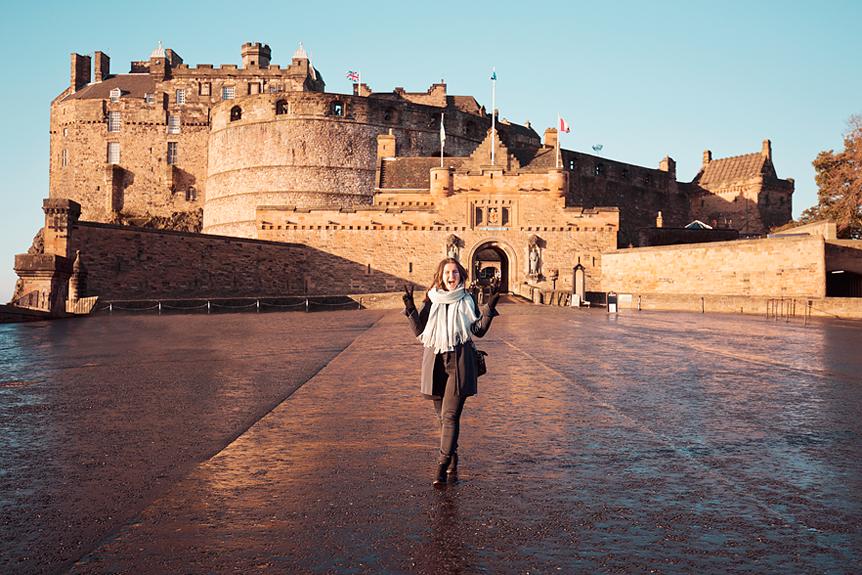 Travel Throwback Thursday Edinburgh: Edinburgh Castle
