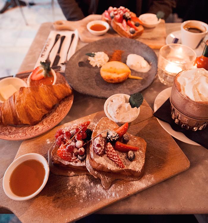 Frukost på Metropolitain