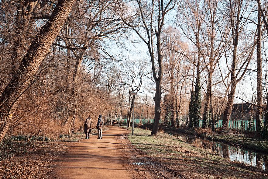 Vårkänslor i Vondelpark