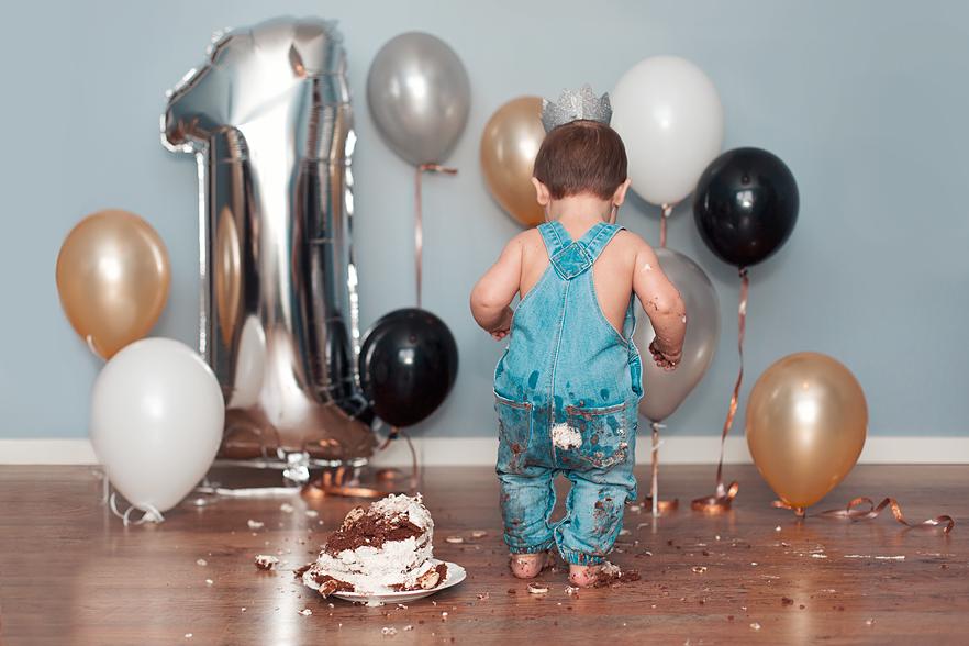 """""""Smash the cake"""" med en ettåring"""