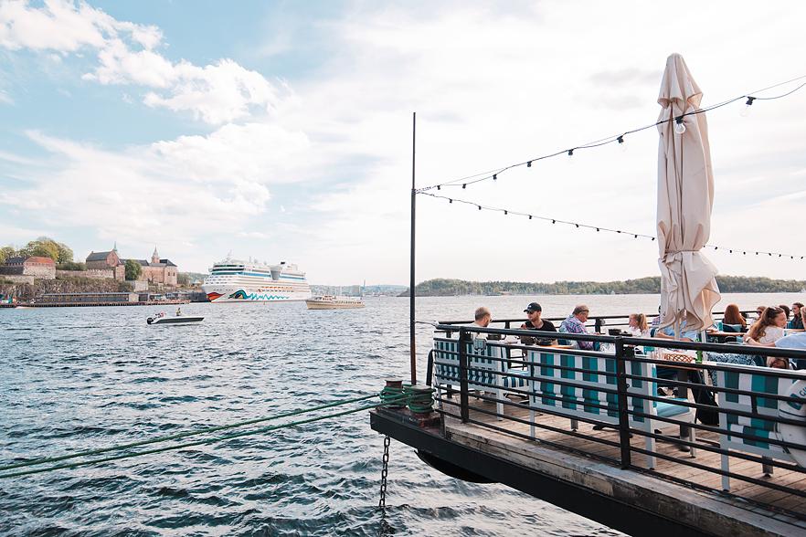 Resedagbok Oslo: Aker Brygge
