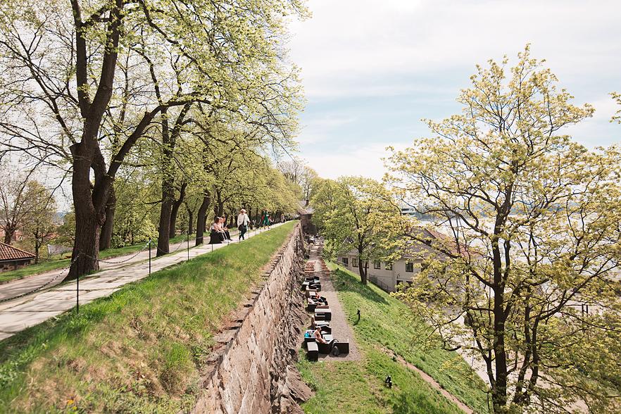Resedagbok Oslo: Akershus fästning