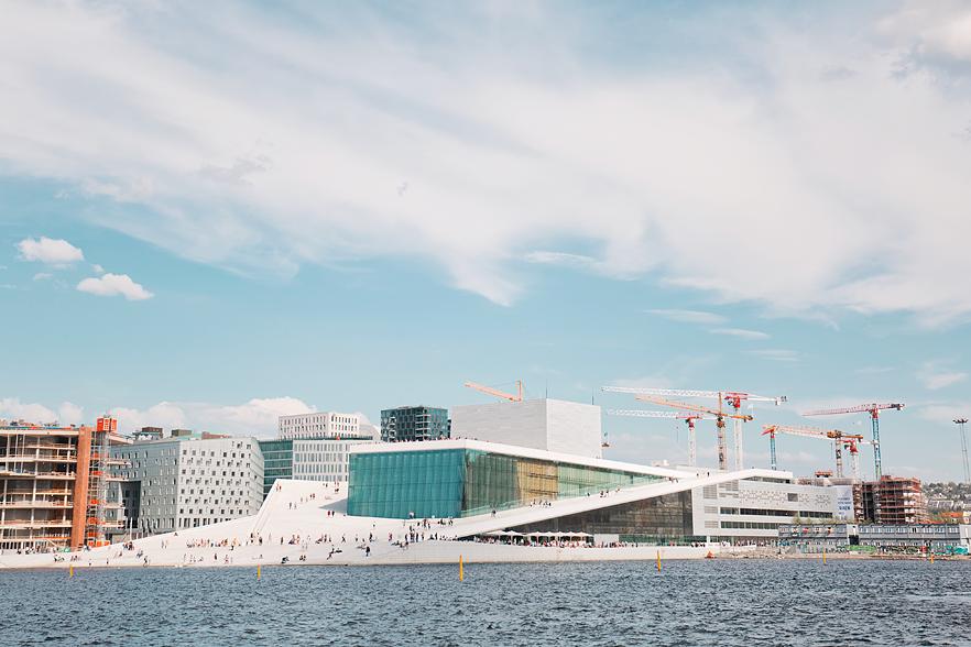 Resedagbok Oslo: Oslos operahus