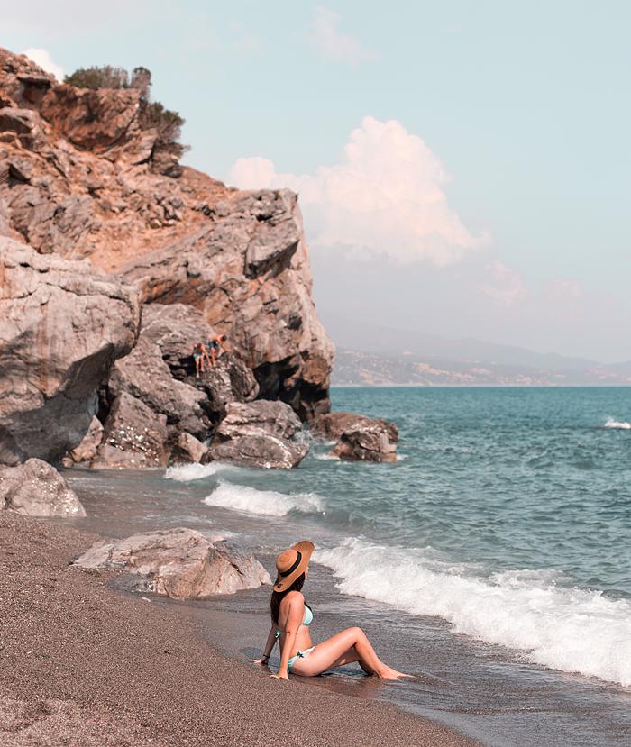 Besök stranden, må bättre