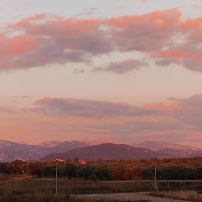 Travel Throwback Thursday - solnedgång