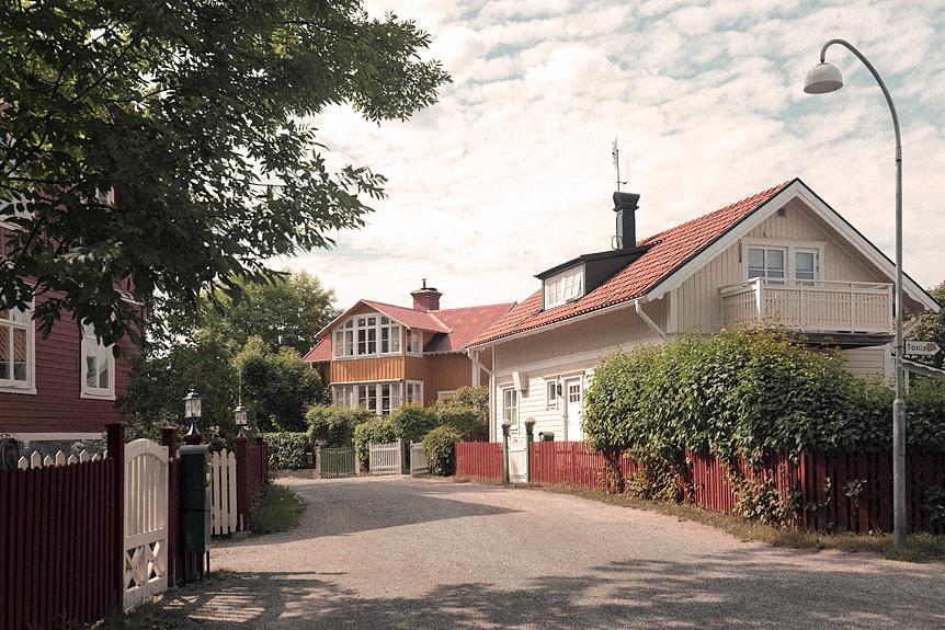 Promenad i Vaxholm