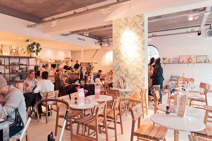 Resedagbok Amsterdam: Corner Bakery