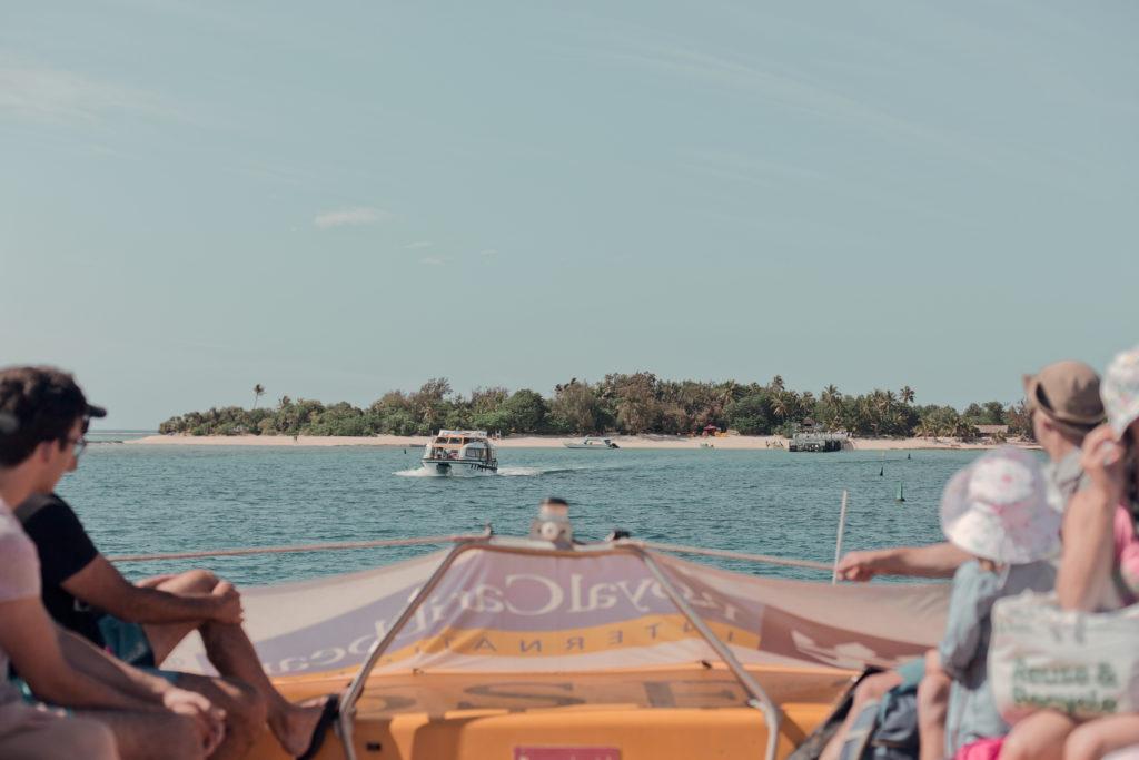 Att ta sig till Mystery Island