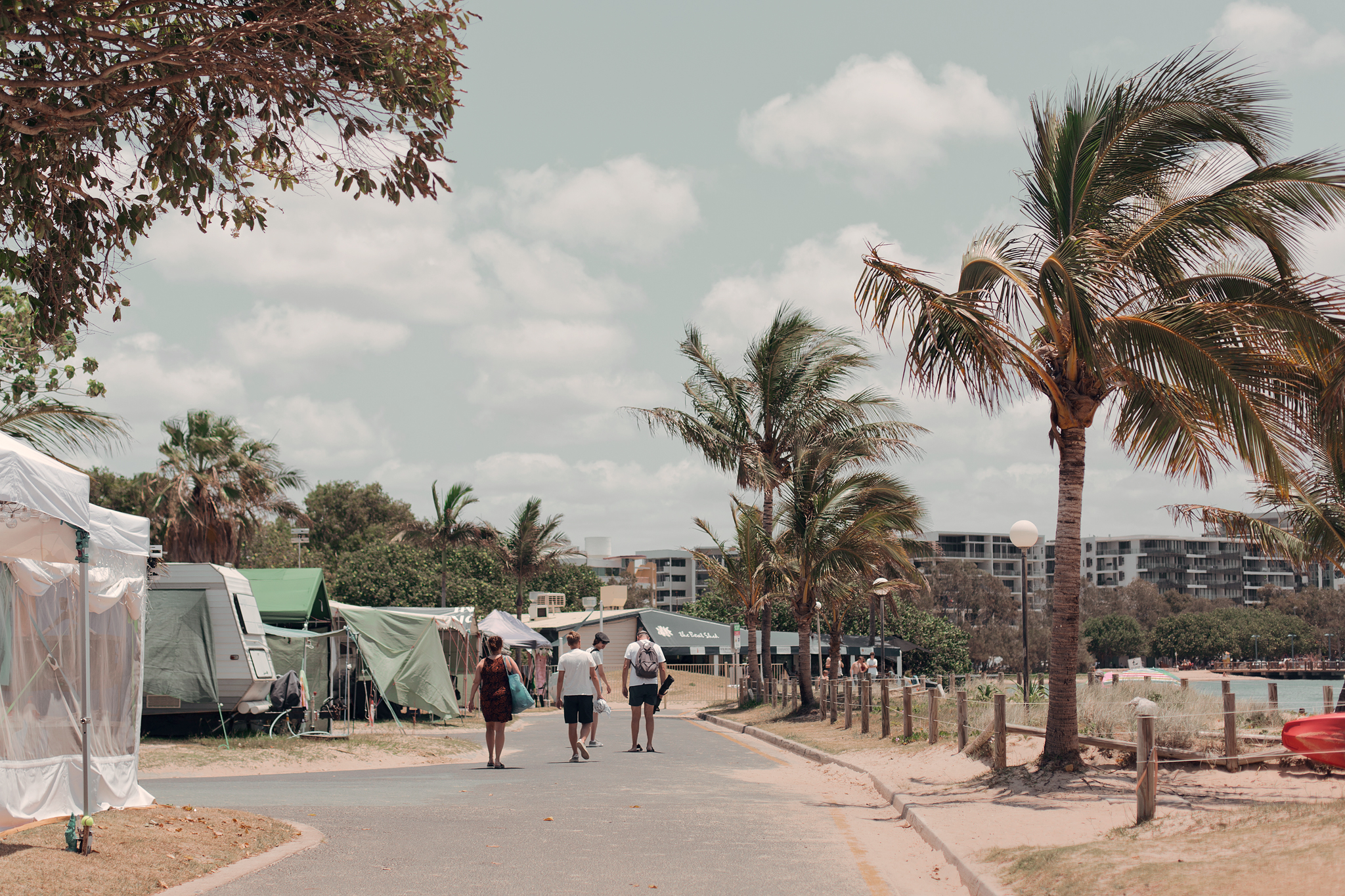 Resedagbok Sunshine Coast: Cotton Tree Beach