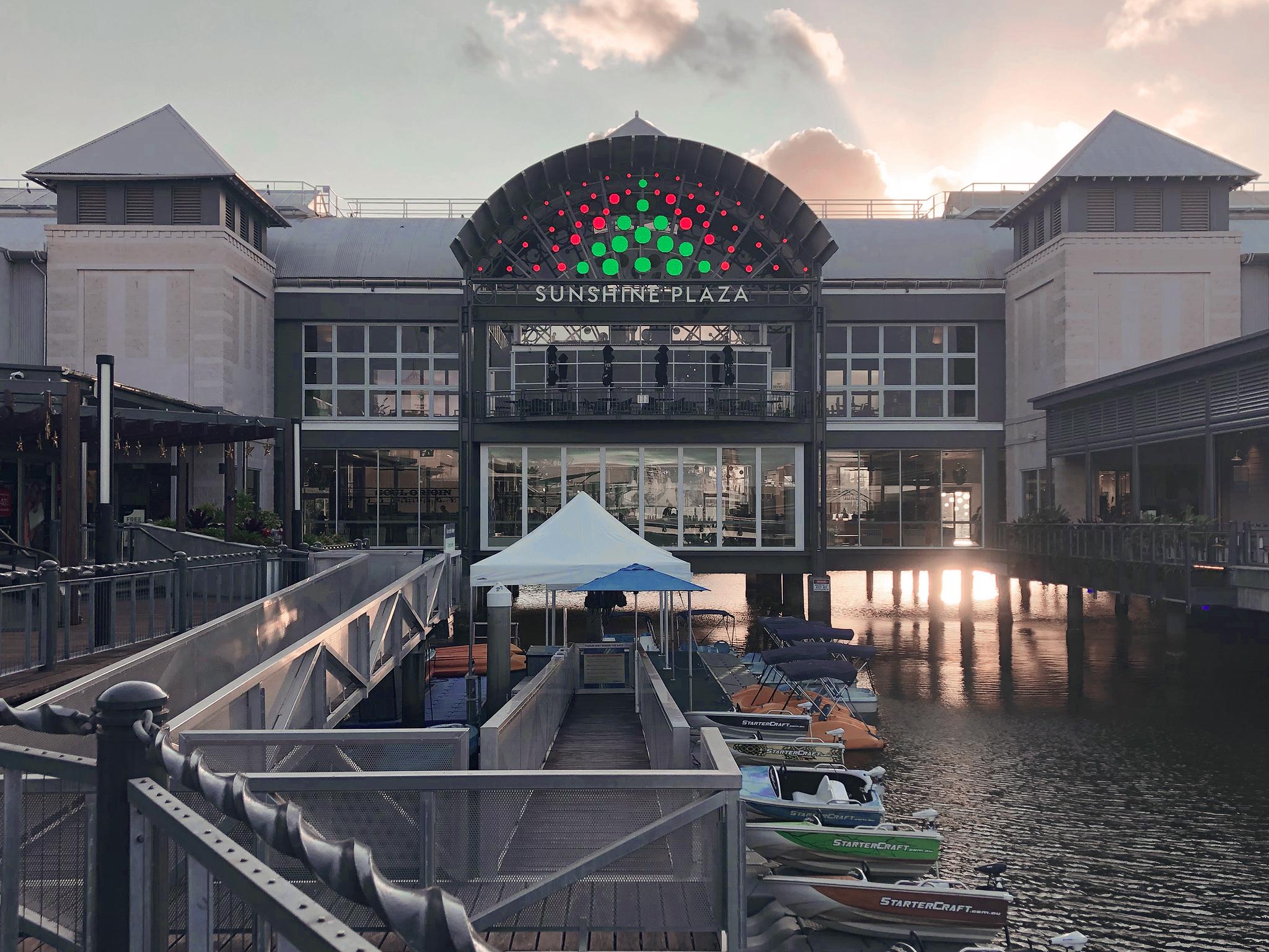 Resedagbok Sunshine Coast: Sunshine Plaza