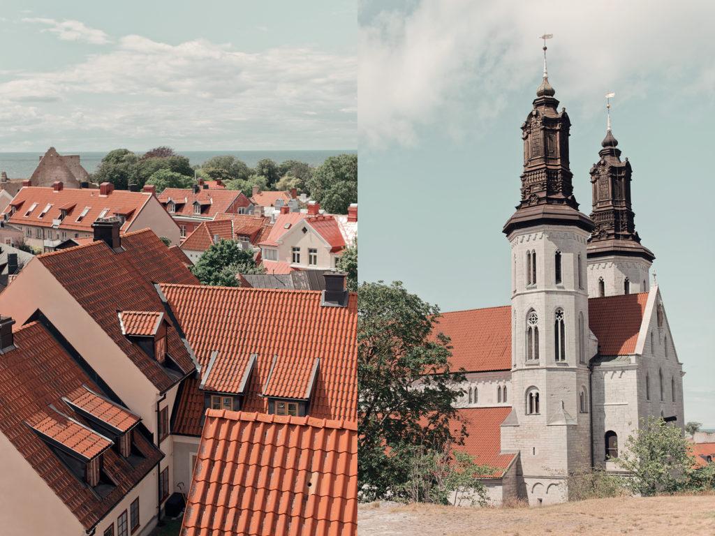Utsikt över Visby