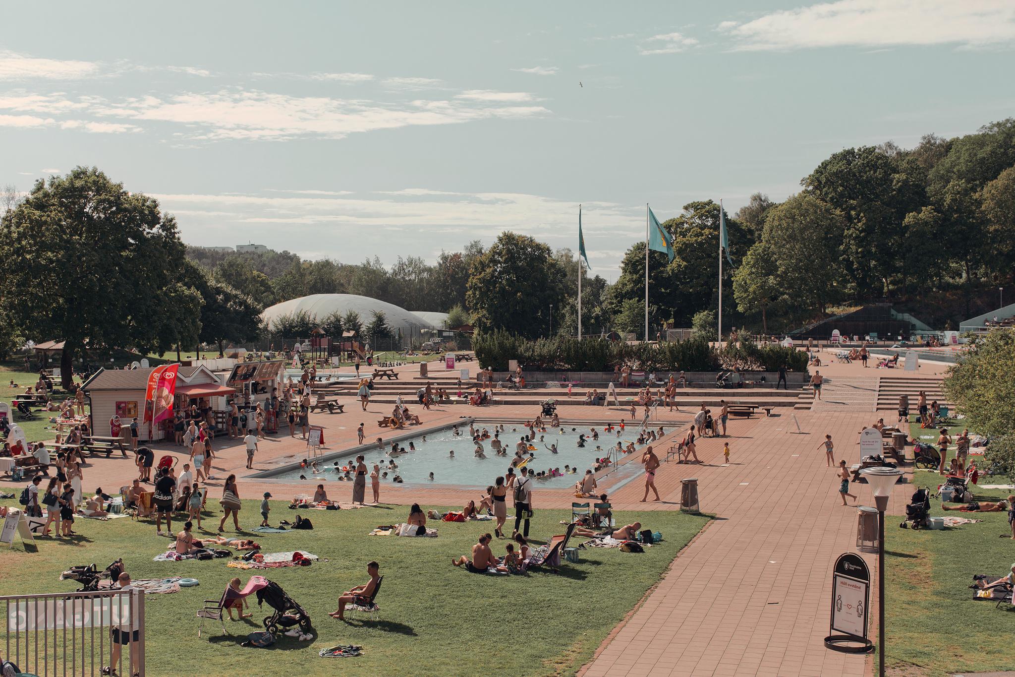 Var kan man bada i Stockholm?