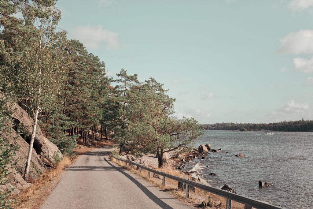 Strandpromenaden i Nynäshamn