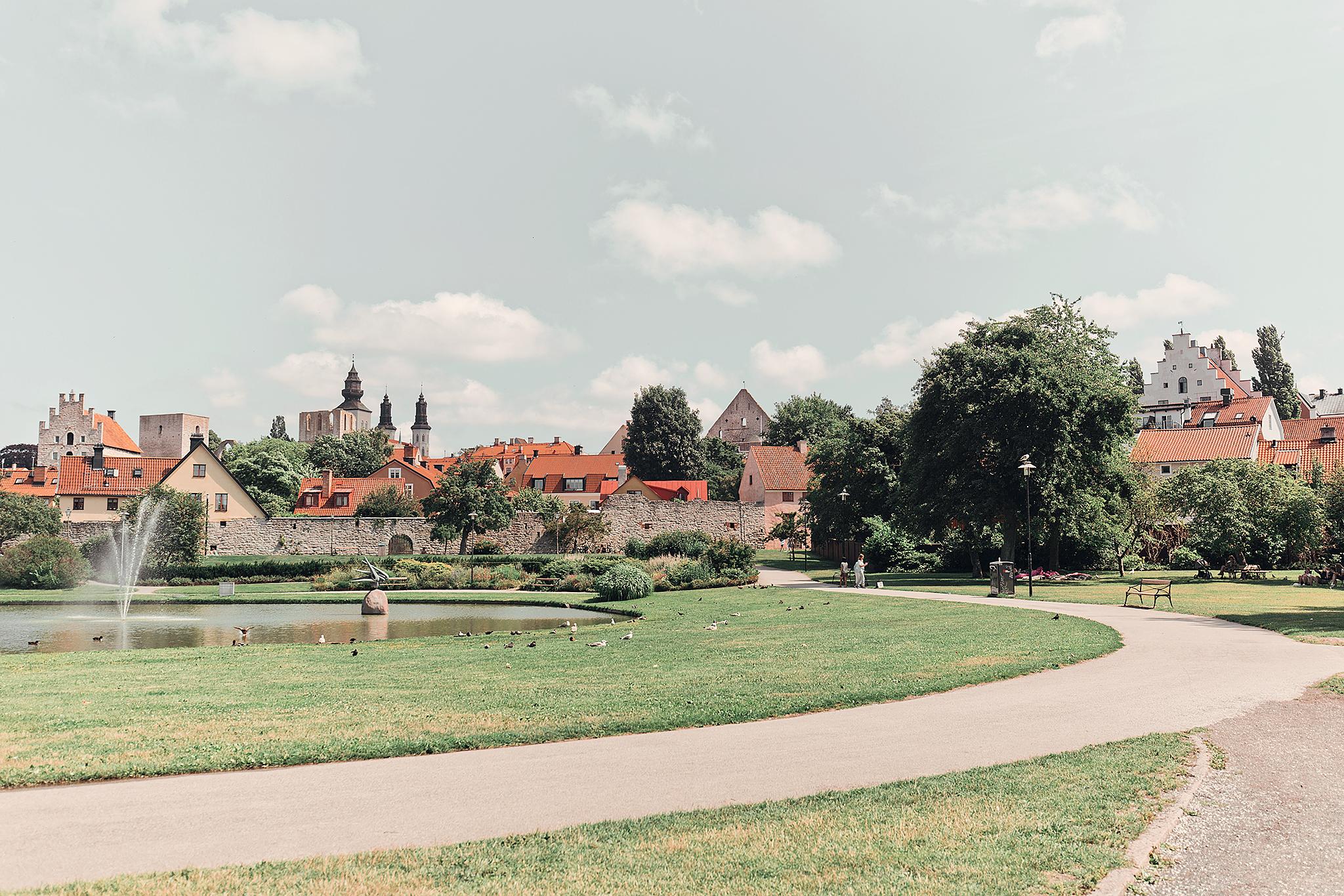 Resedagbok Gotland: Almedalen