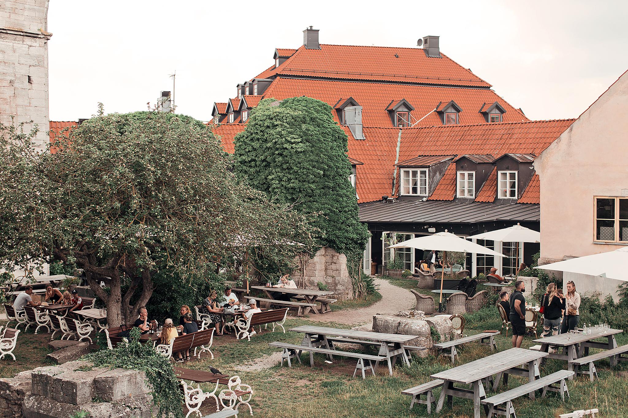 Resedagbok Gotland: St Hans Café
