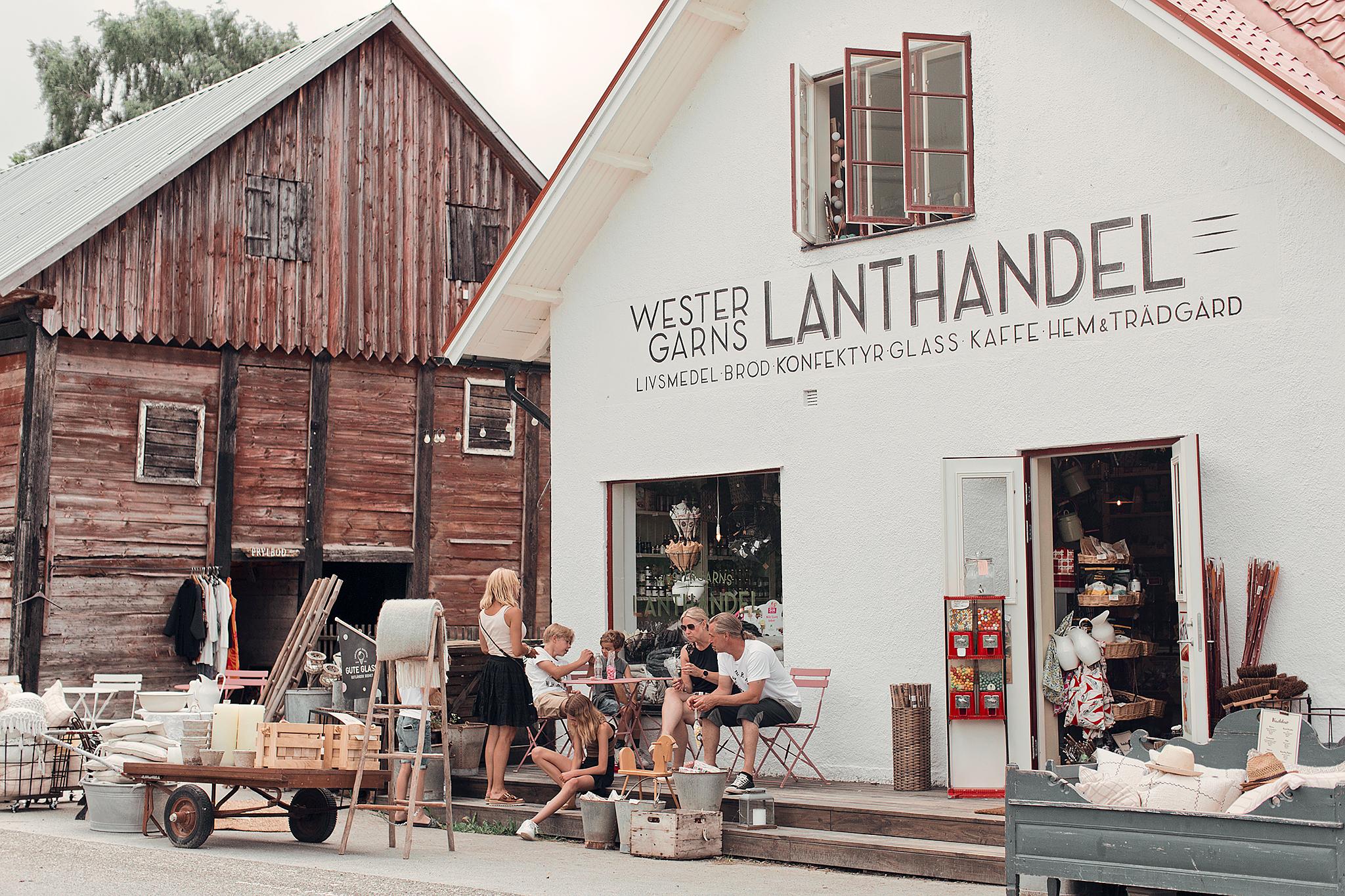 Resedagbok Gotland: Westergarns Lanthandel