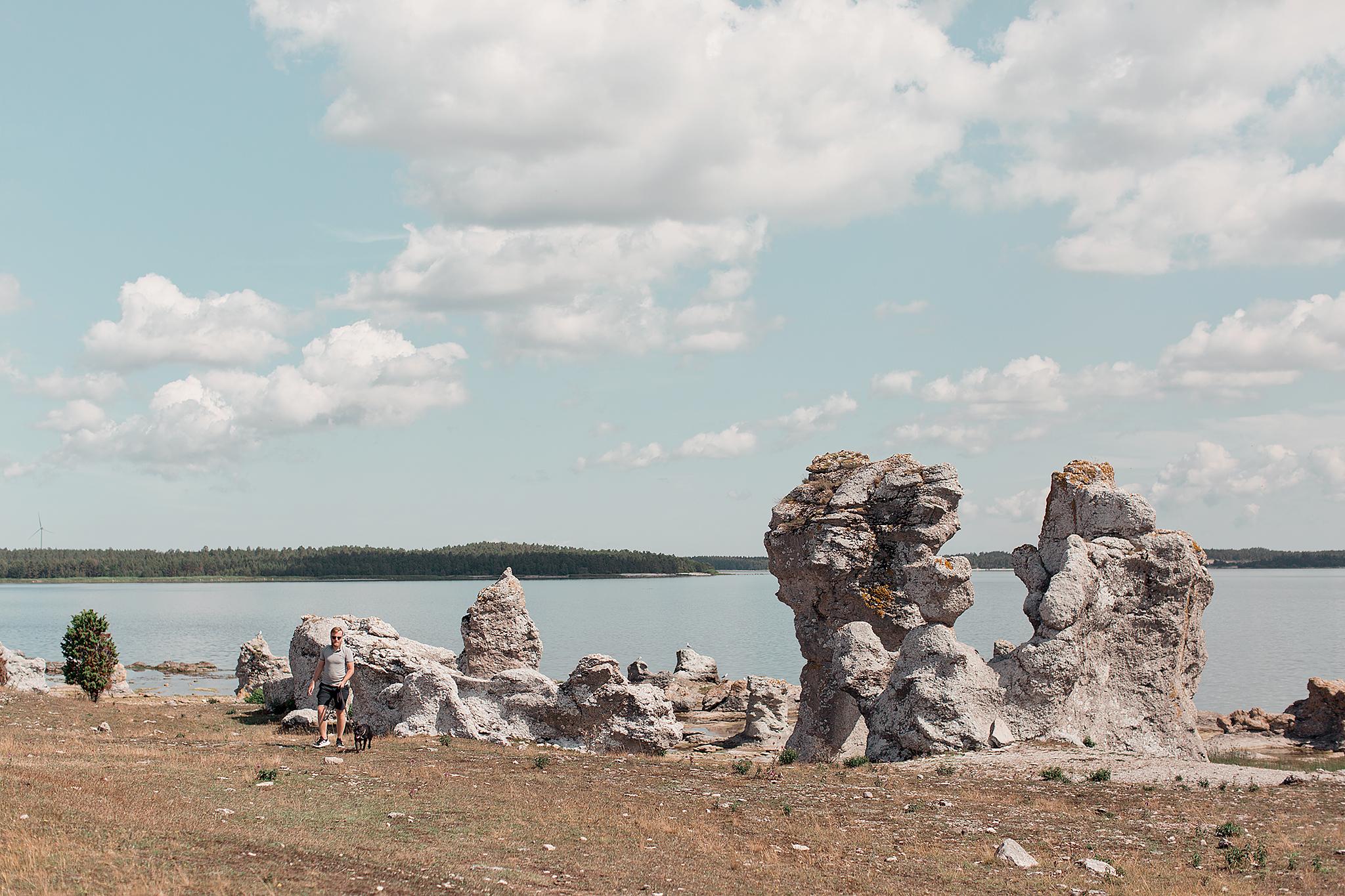 Resedagbok Gotland: Asundens raukfält