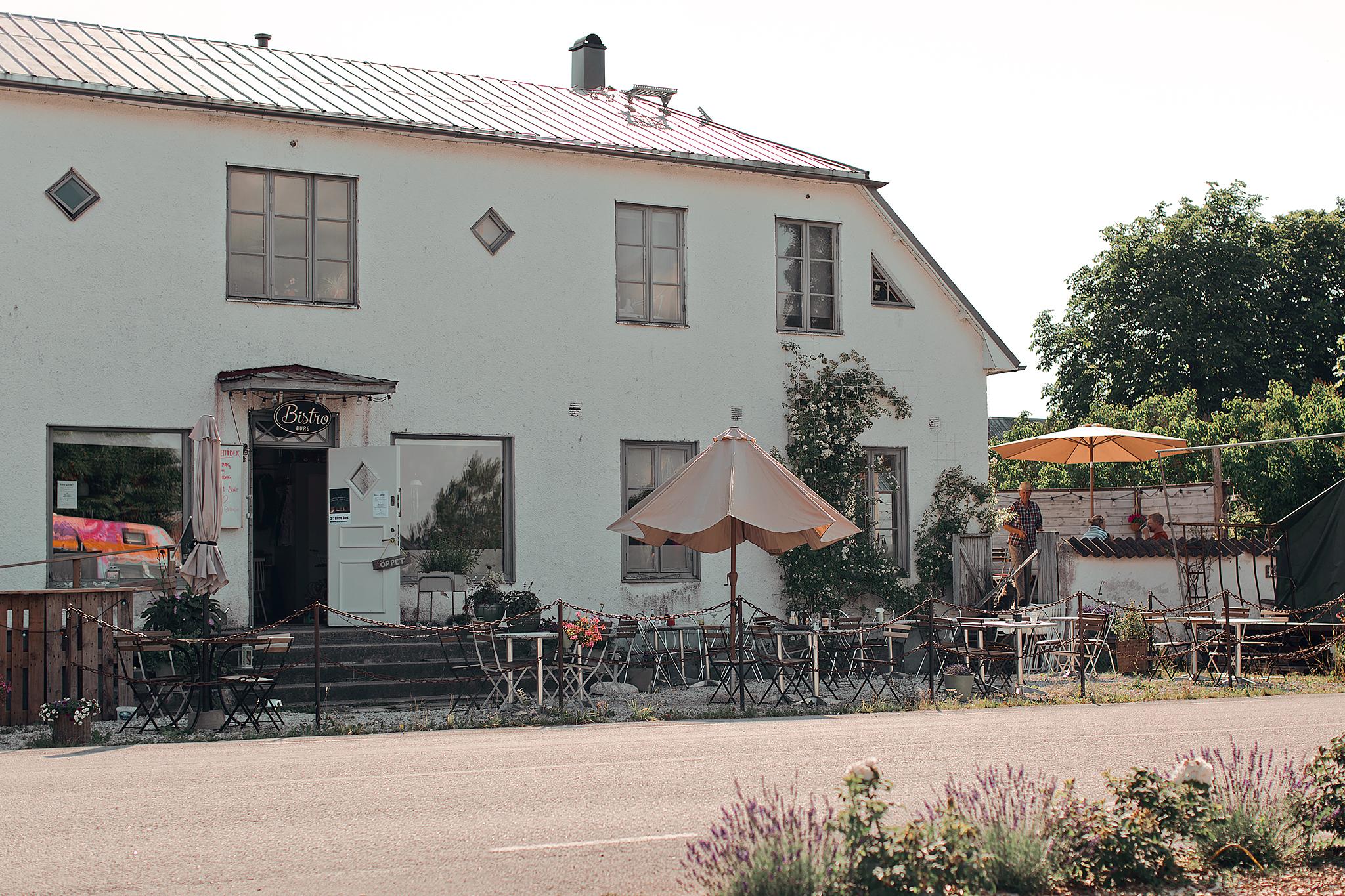 Resedagbok Gotland: Bistro Burs