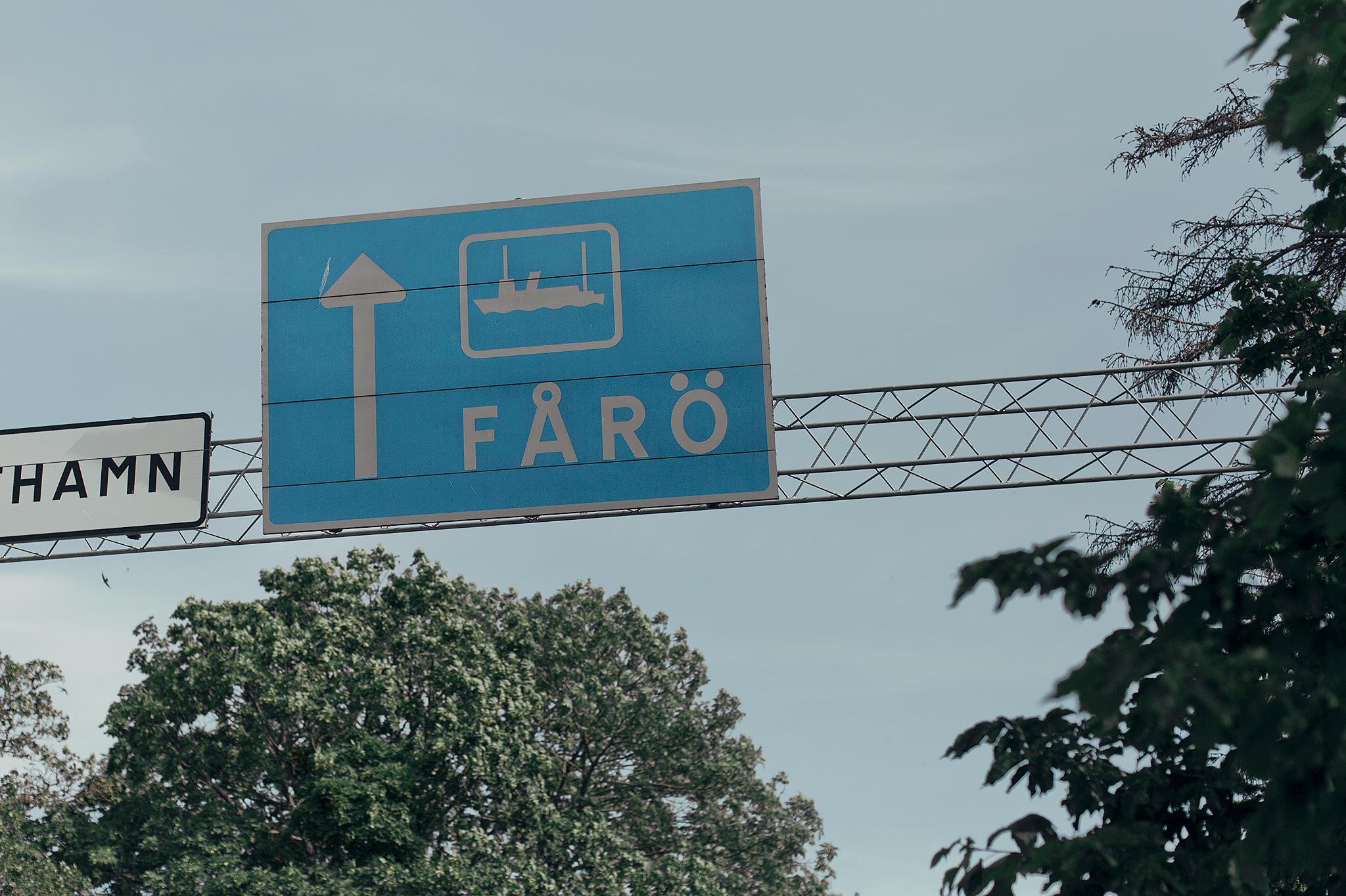 Resedagbok Gotland: Fårö