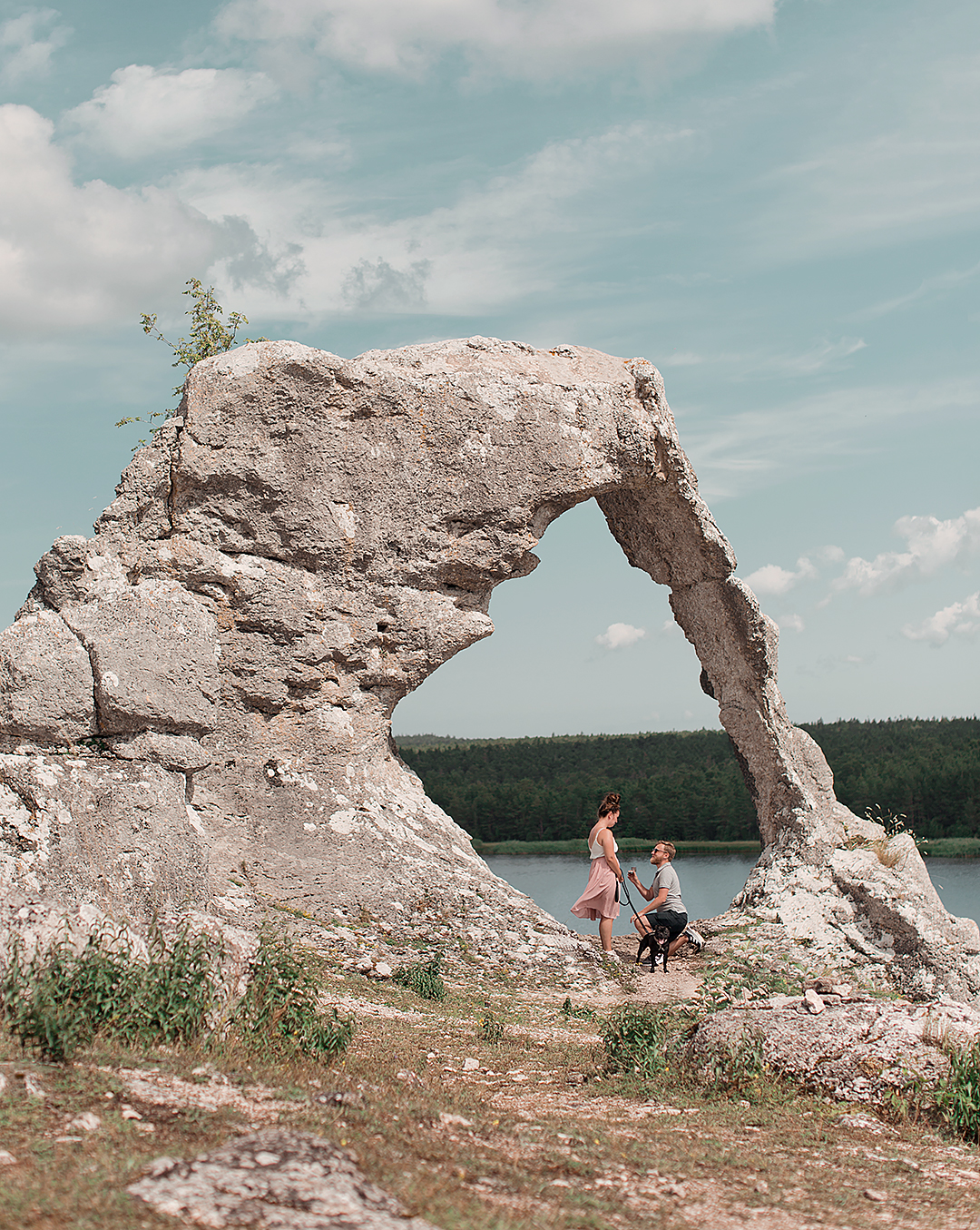 Resedagbok Gotland: Lergravsporten