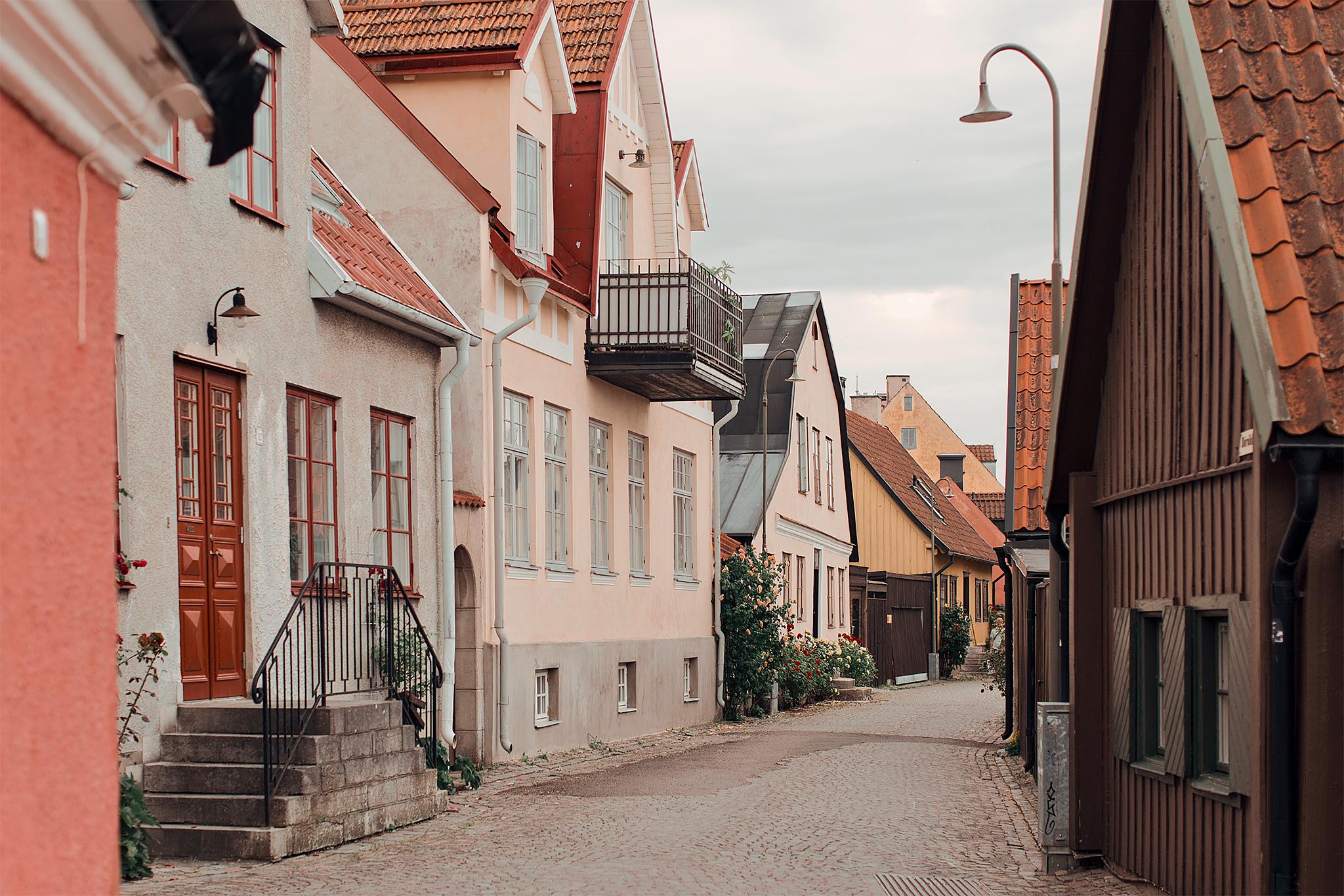 Resedagbok Gotland: Visby