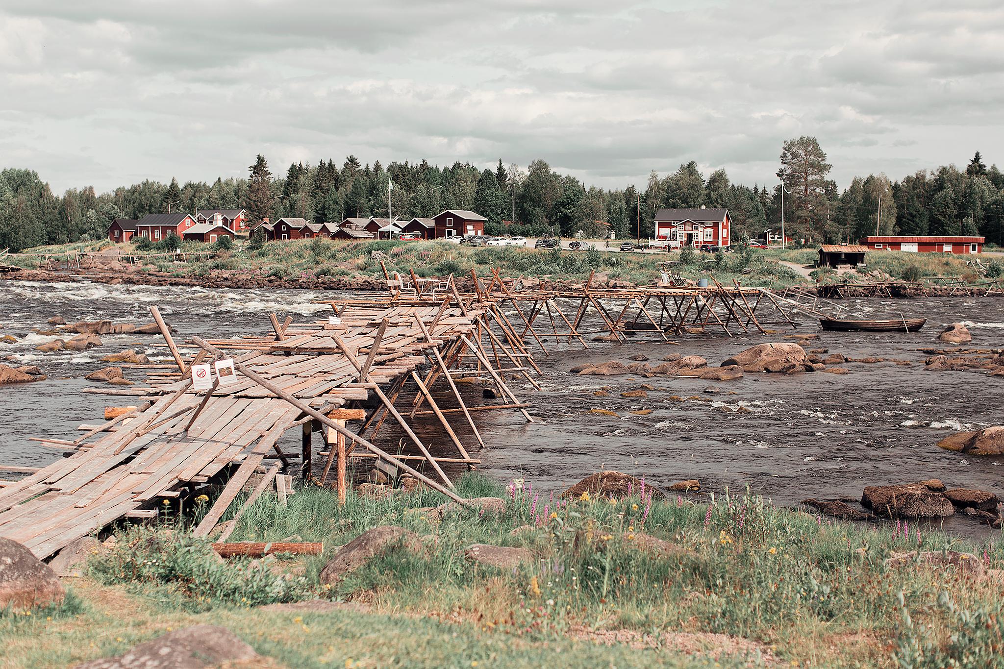 Resedagbok Norrbotten: Kukkolaforsen