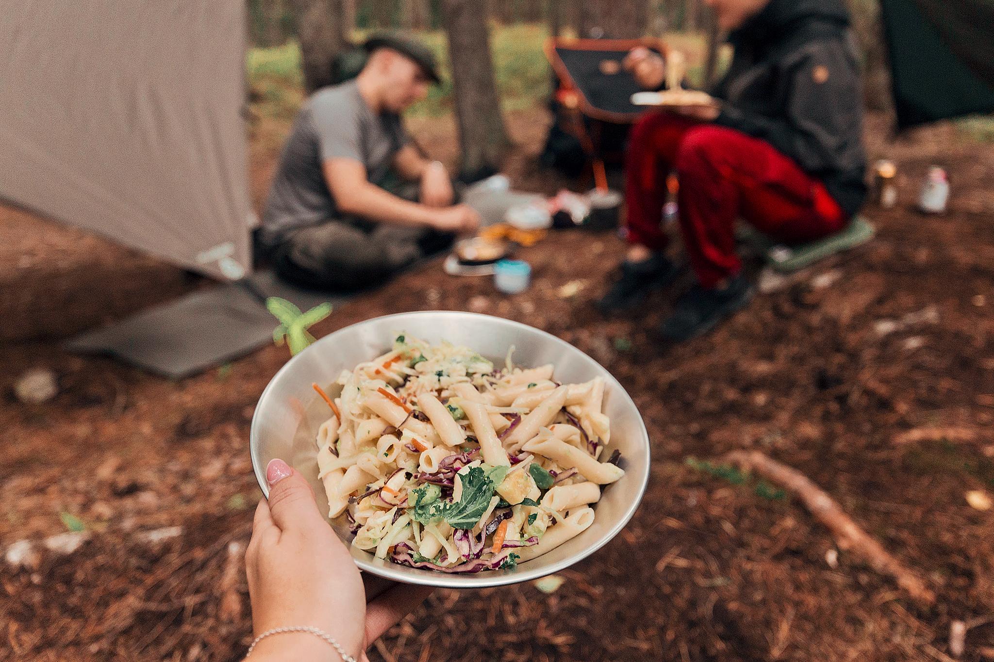 Middag i skogen