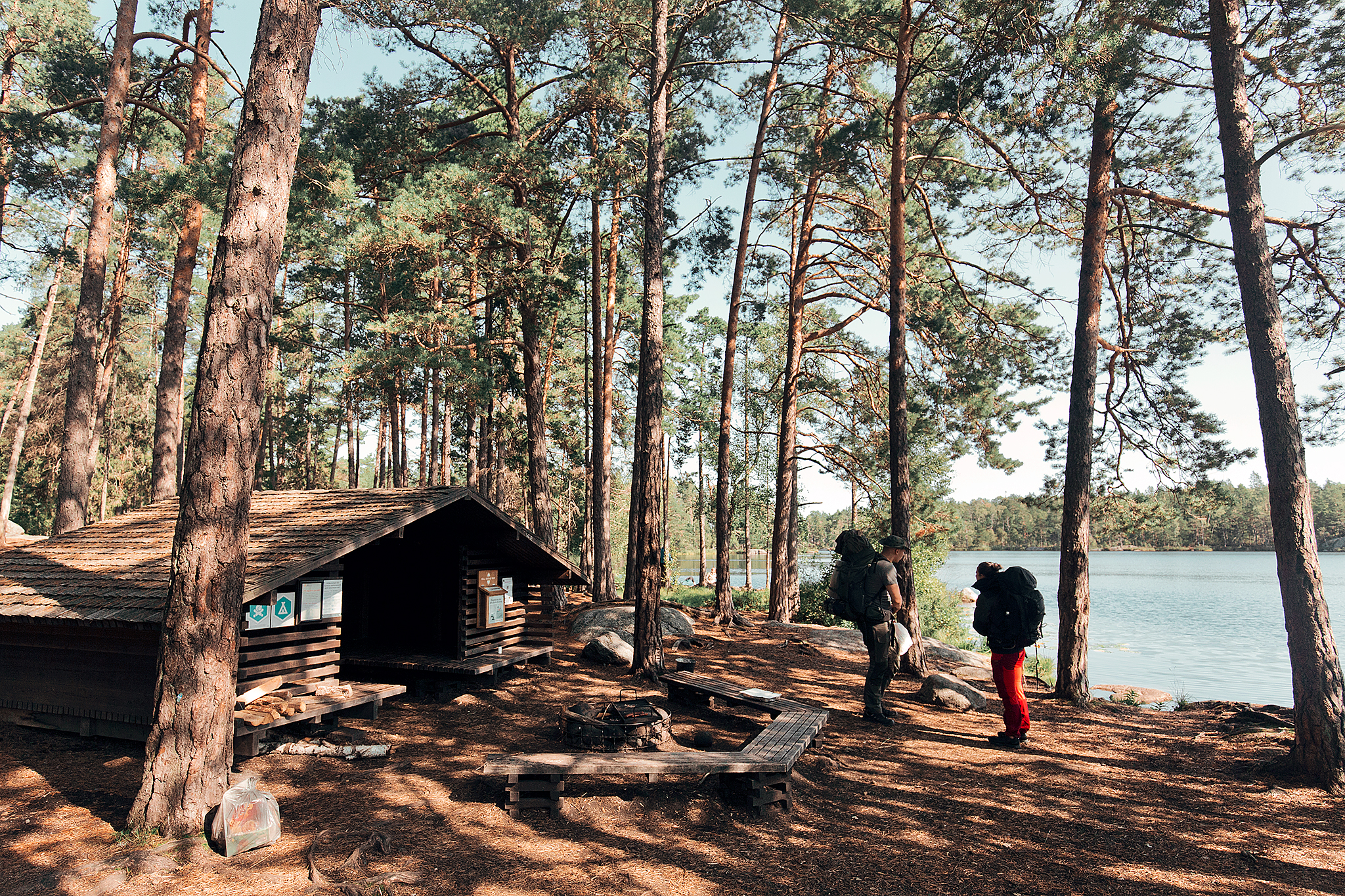 Övernattning i Tyresta Nationalpark