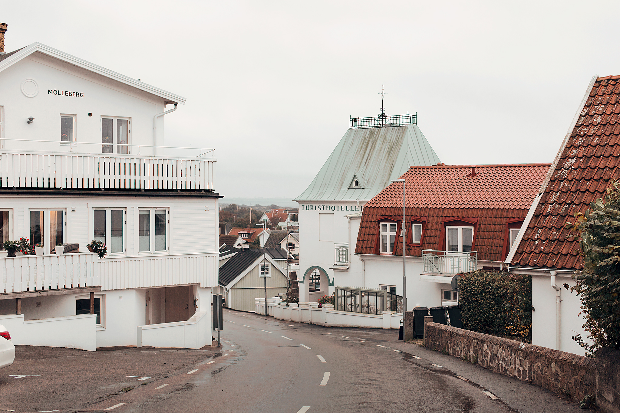 Gulliga hus i Mölle