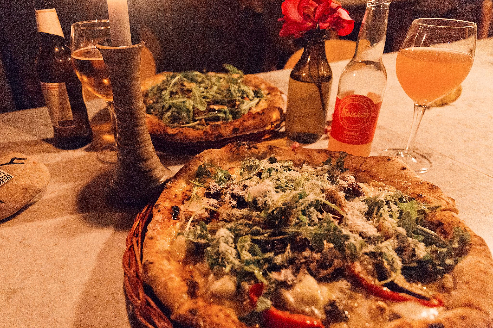 Napolitansk pizza på Mölle Krukmakeri