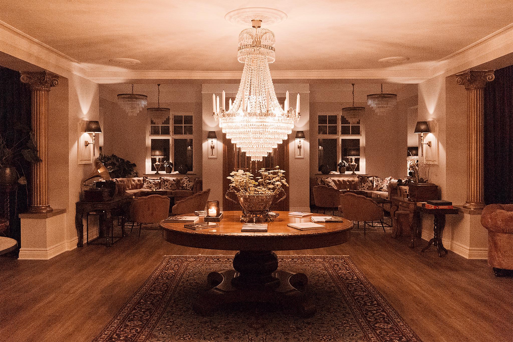 Middag på Villa Brunnby